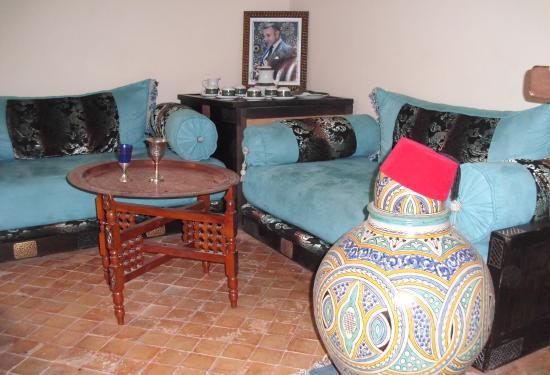 Riad Kalinka Lotus: Plenty of room to relax