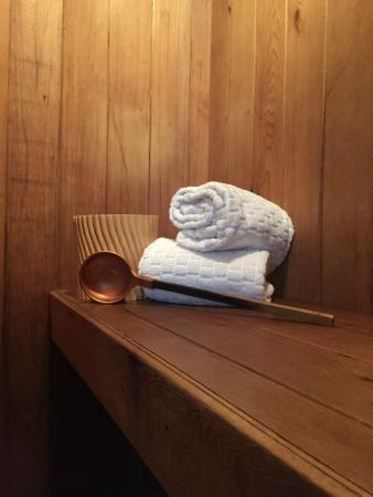 Inn New York City: Spa Suite Sauna
