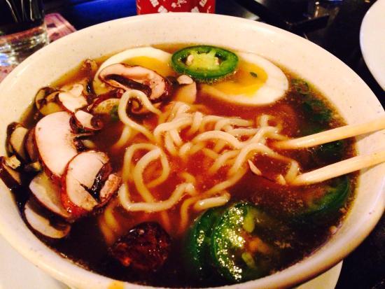 Double Black Noodle Bar: Smoking Pig Ramen Noodle bowl