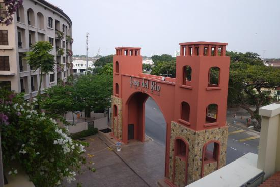 Casa del Rio Melaka: entrace