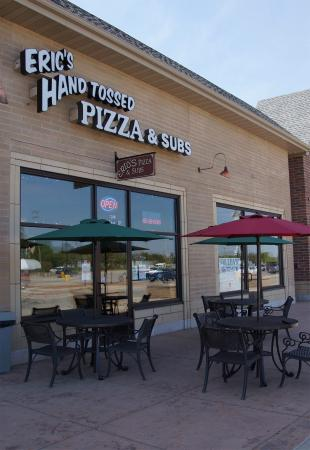 Eric's hand tossed pizza & subs