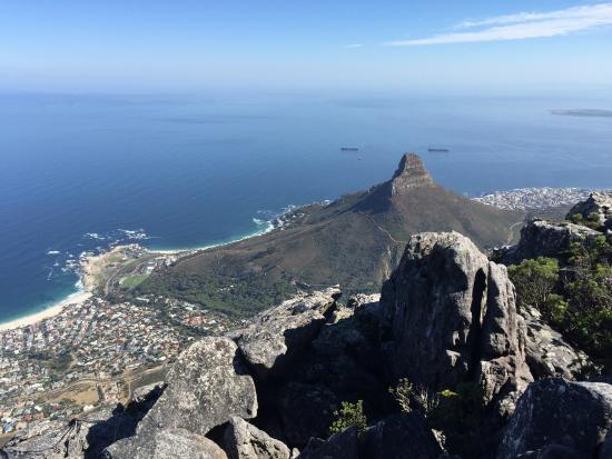 Table Mountain Cableway WiFi Lounge: View from the top