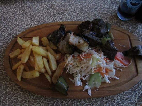 Hotel Olymp: The food is fantastic!