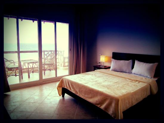 Club Red Dahab: Double Room King size bed