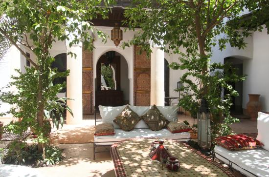 Riad Karmela: Patio