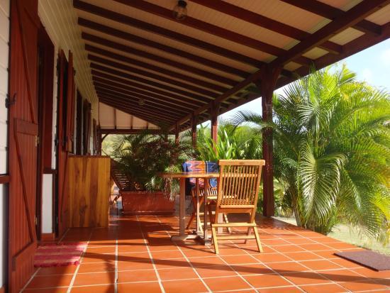Domaine de Puyferrat: la terrasse privative
