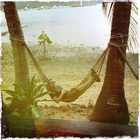 Nirvana Resort Koh Chang: Our own hammock ;)