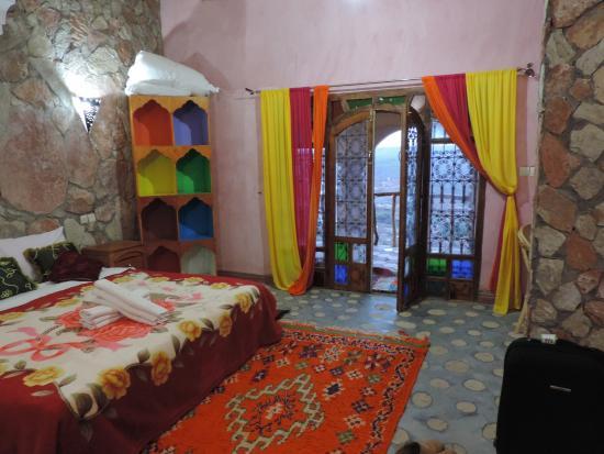 Dar Timitar: chambre sous la terrasse