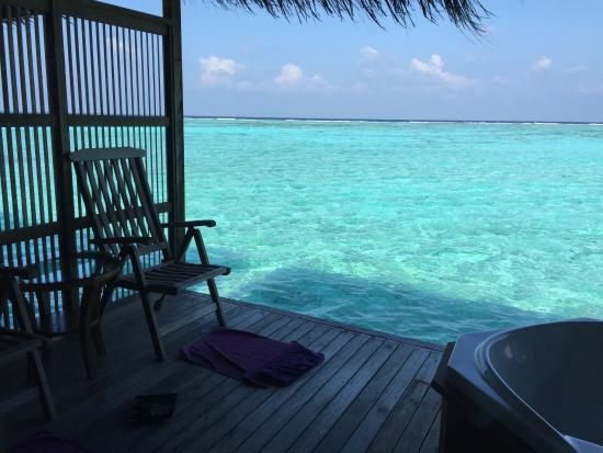 Duniye Spa: Massage over the water