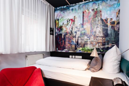 Best Western Hotel Nuernberg Am Hauptbahnhof : Unsere Wohlfühlabteile / Komfort Einzelzimmer