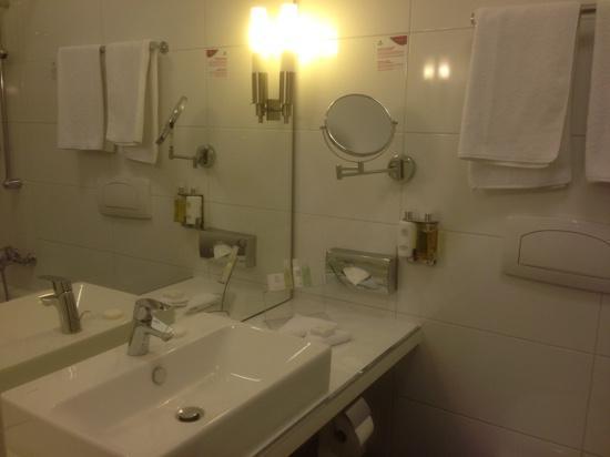 Mercure Hotel Wiesbaden City: bagno