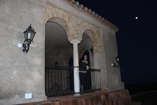 Complejo Turistico Castillo Castellar: Terraza del hotel