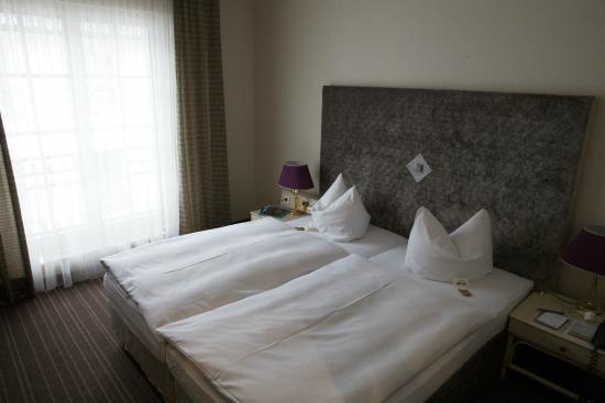 Hotel Schloss Friedestrom: Schlafen von rechts