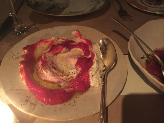 ricotta with rhubarb picture of abc kitchen new york city