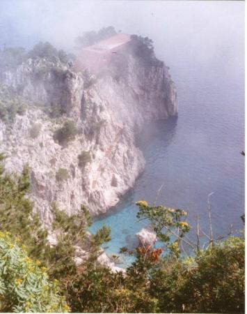 Villa Krupp: CASETTA  ROSSA  DI  CURZIO  MALAPARTE