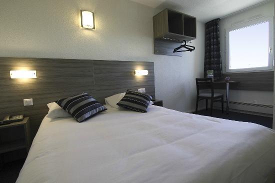 Hotel Azur : chambre standart grand lit