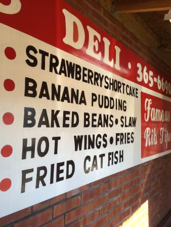 Good Stuff - Picture of Tom's BarBQ and Deli, Memphis - TripAdvisor