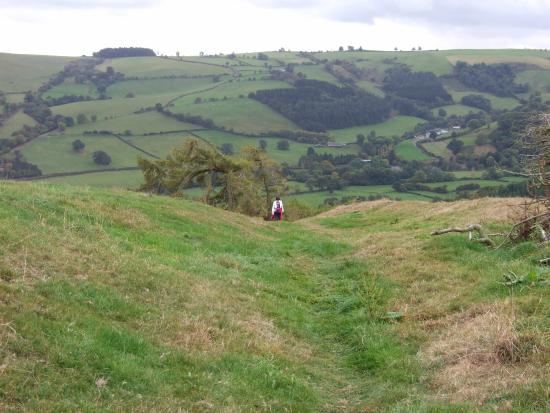 Newcastle-on-Clun, UK: Offa's Dyke