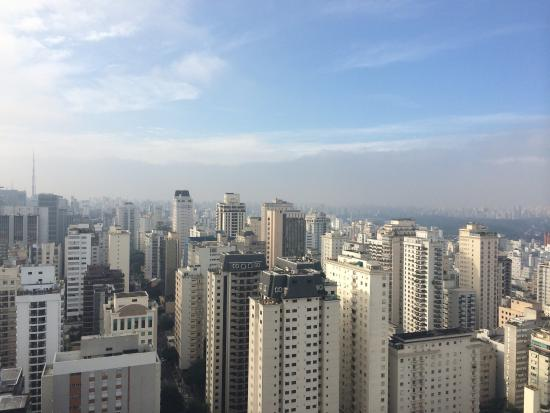 Renaissance Sao Paulo Hotel: From the lounge on the 23rd floor