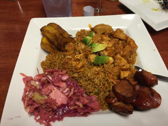 Arepa City: Arroz con pollo