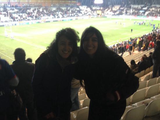 le stade des Alpes : Rugby