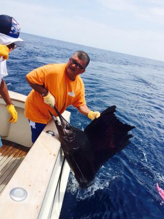 Алахуэла, Коста-Рика: An excellent day of fishing with Easy Transfer Costa Rica