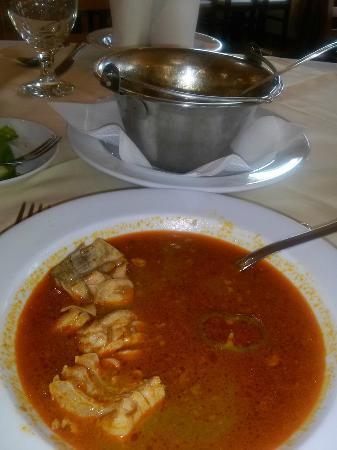 Jobb Mint Otthon Kisvendeglo: fish soup