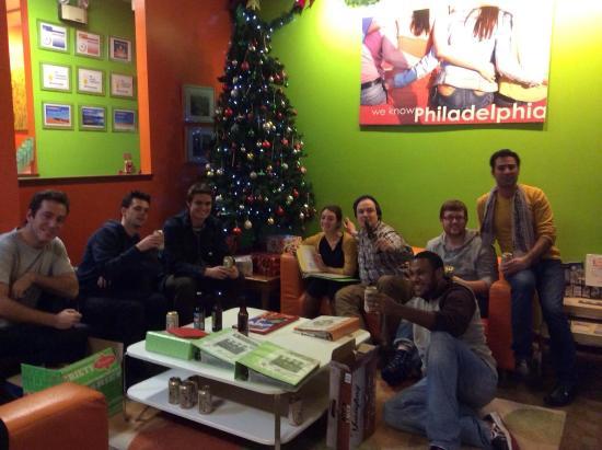 Apple Hostels Philadelphia: Christmas in Philly.