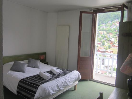 Village Vacances Le Chablais : Chambre double