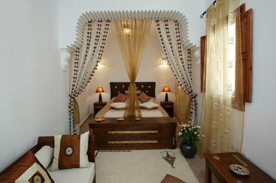 Riad Les Jardins Mandaline: chambre Mayza