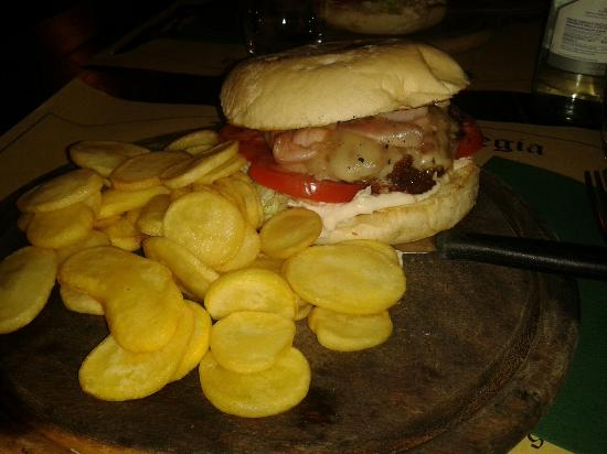 Chiesa Vecchia: Hamburger gesa vecia