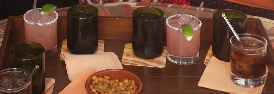 Onyx Bar & Lounge at Four Seasons Resort Scottsdale at Troon North: Prickly Pear Margarita