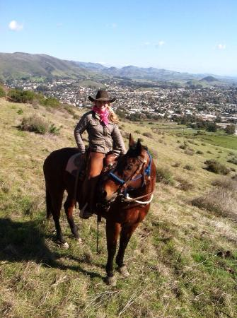 Madonna Inn Trail Rides: Rides are guided by our professional Wranglers