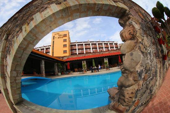 Hotel Real de Minas: Un chapuzón para el calor