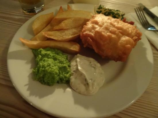 Ffiona's : Très bon le Fish & Chips