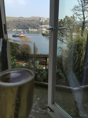 The Fowey Hotel: View from terrace room