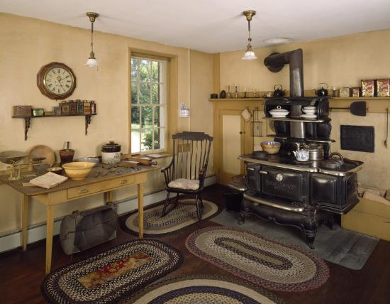 Castle Tucker : Four generations of 19th century kitchen technology