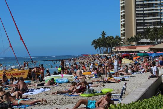 Moana Surfrider A Westin Resort Spa Waikiki Beach View From Property Edge
