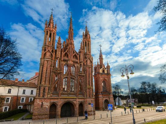 كنيسة سانت أني: Собор Св. Анны - самый красивый в Литве