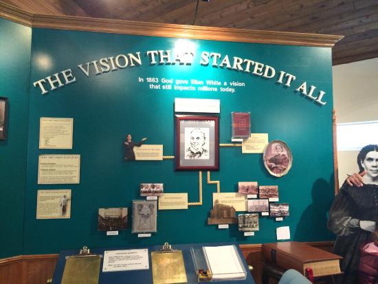 Dr. John Harvey Kellogg Discovery Center : Ellen White background