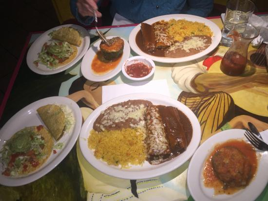 """La Fiesta Mexican Restaurant: This is the """"Special Dinner"""" - WOW!"""