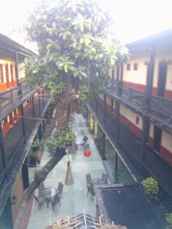Hotel la Siesta: courtyard