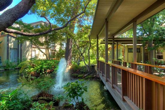 Grounds Picture of Dinahs Garden Hotel Palo Alto TripAdvisor