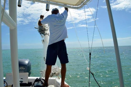 Great crew picture of belize fishing charters san for Fishing san pedro belize