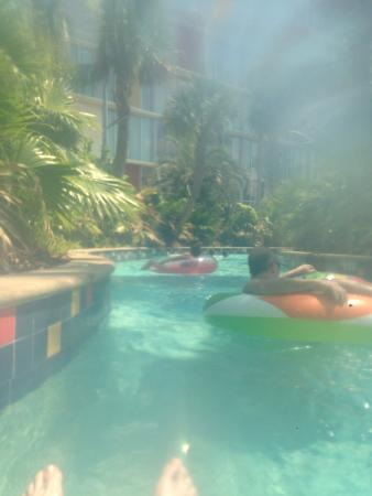 Lazy River With The 15 00 Pp Tube Picture Of Universal