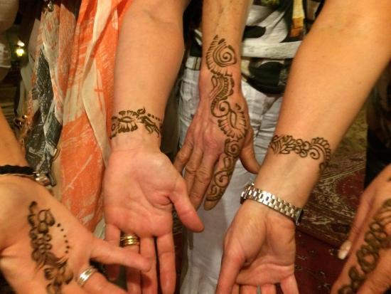 Arabian Adventures: Henna display