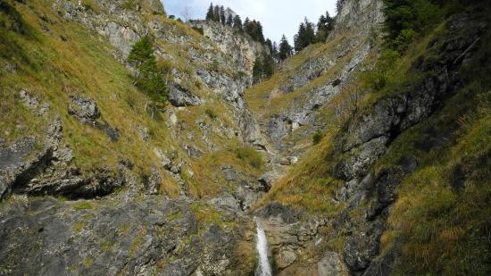 Bad Hindelang, Γερμανία: Oberer Bereich Tobel