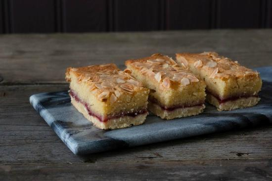 Zest: Yum..our Bakewell Slice