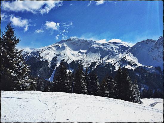 Ski & Summer Morzine - Chalet Savoy: View from the Super Morzine.