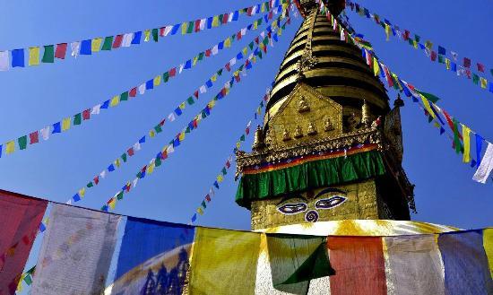 Google Trek - Private Day Tours: Monkey Temple Kathmandu